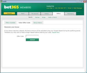bet365-bonuscode